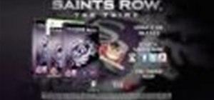Saint's Row 3 Professor Genki Trailer