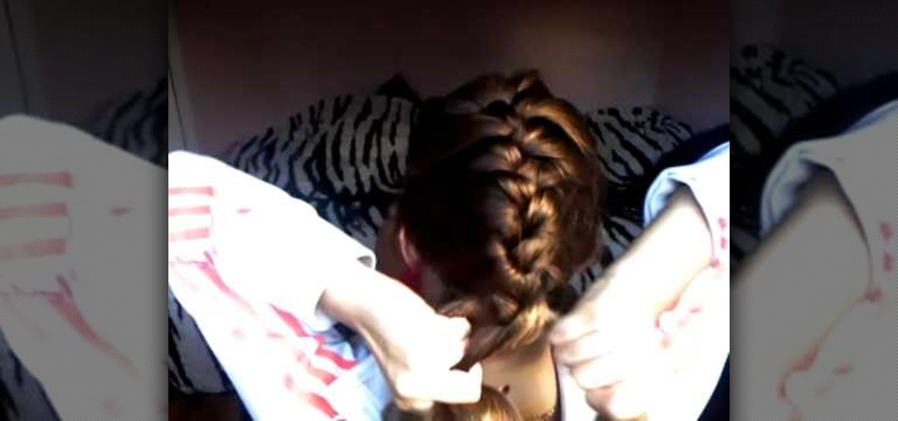 how to start learning french braid on own hair