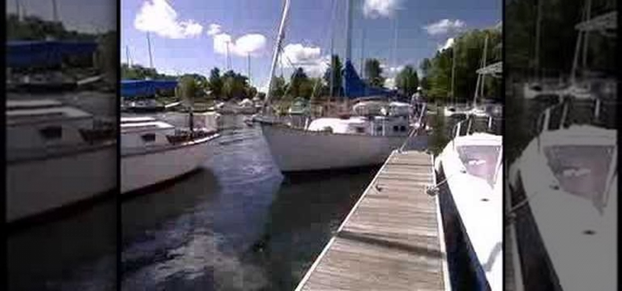 How to Back out of a slip single handed « Sailing :: WonderHowTo