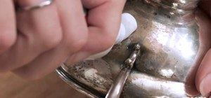 Polish silver cheaply for the holidays using toothpaste