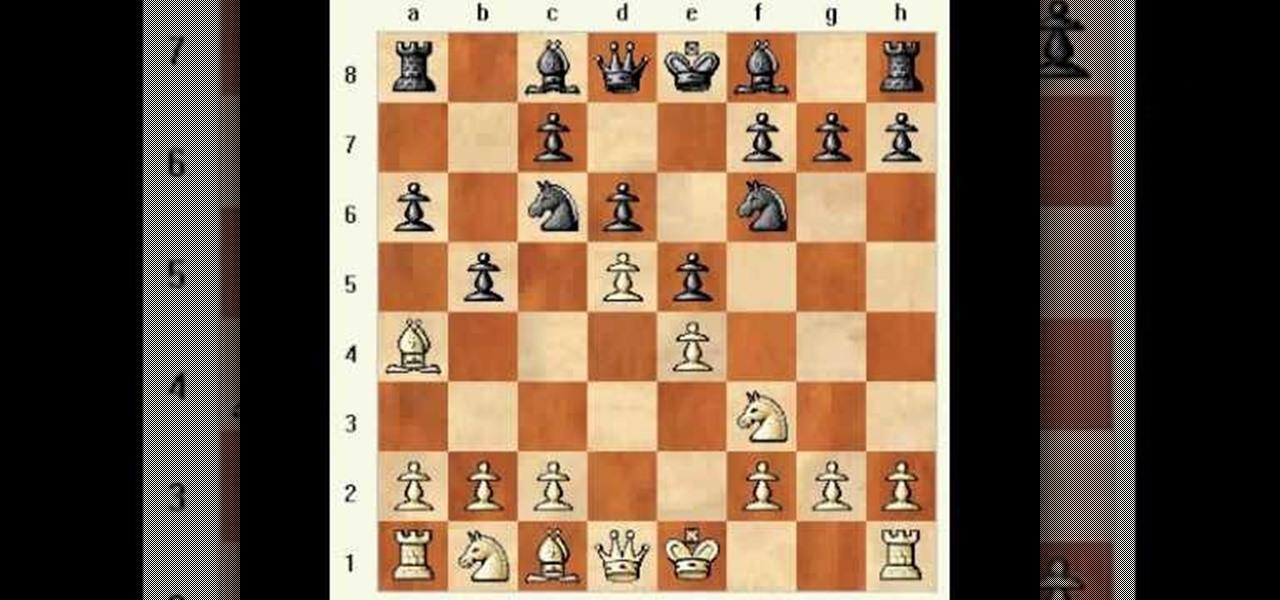 Ruy lopez chess opening