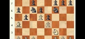 Play Tarrasch's trap in the Steinitz chess defense