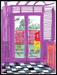 Famous Artist David Hockney Gives iPad a Big Thumbs-Up