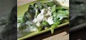 Make creamy blue cheese dressing from scratch