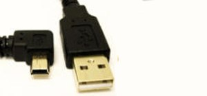 Left (Right) Angle USB Cable for Tethering