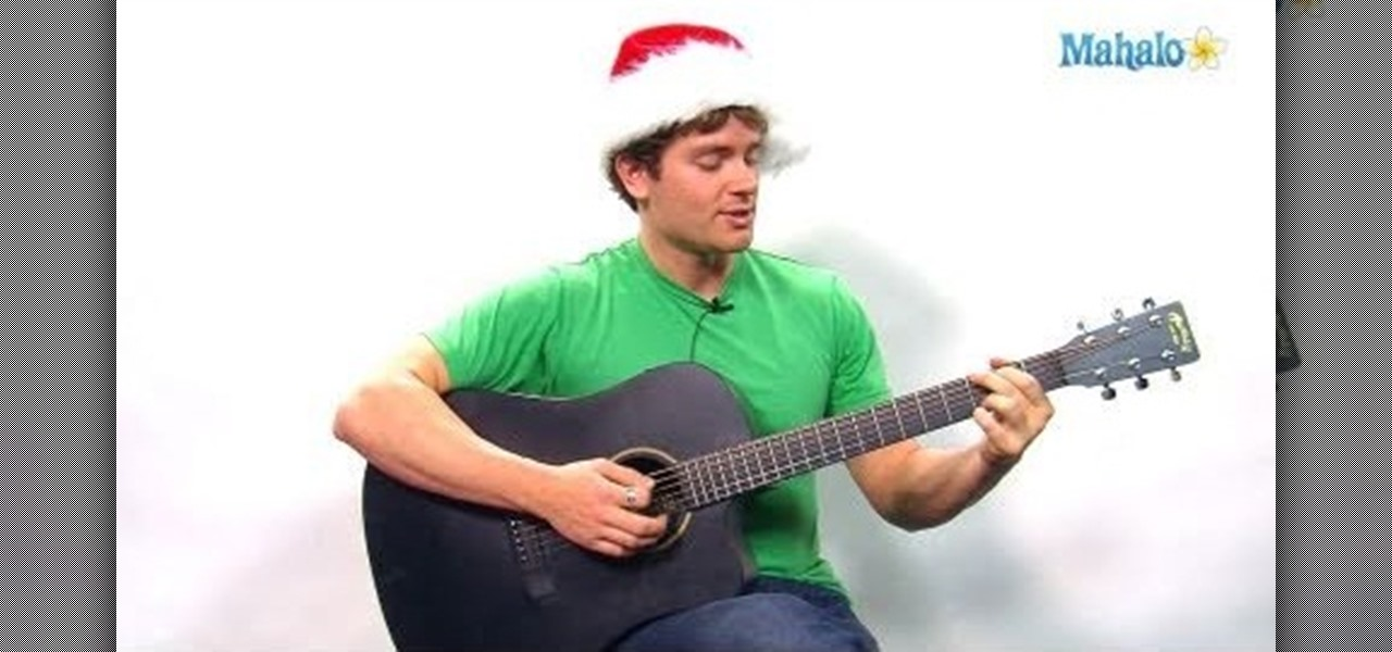 """How to Play """"Jingle Bell Rock"""" on your guitar for Christmas « Acoustic Guitar :: WonderHowTo"""