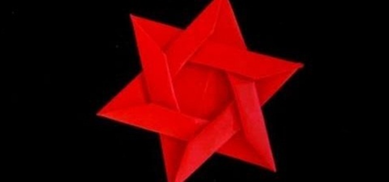 How To Fold An Origami Star Of David Or Six Pointed Star Origami