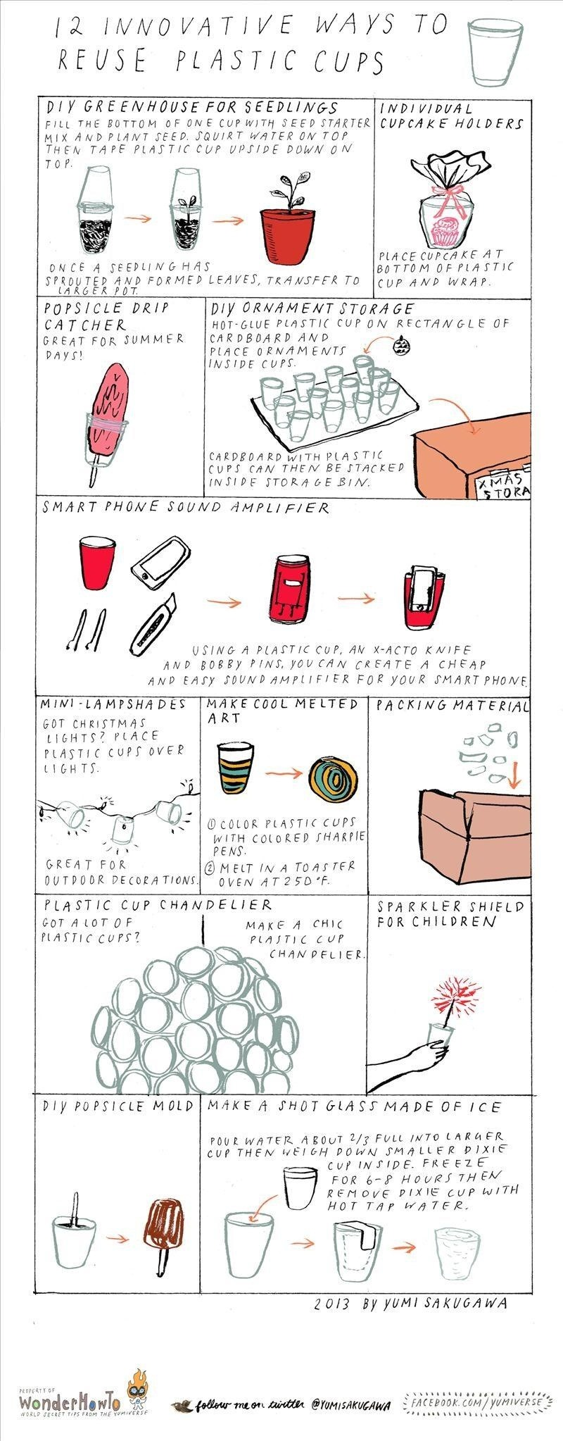 12 Innovative Ways to Reuse Plastic Cups