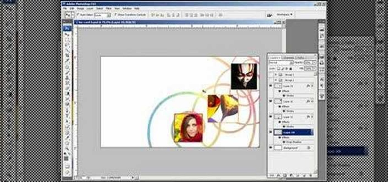 How to Create an abstract business card in Photoshop « Photoshop ...