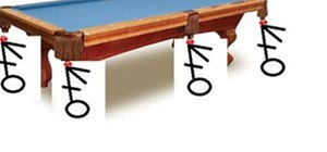 Pool Table in the nuts