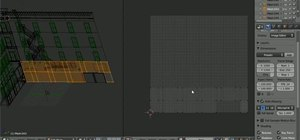 Unwrap a model of a building in Blender 2.5