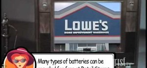 Dispose of batteries properly