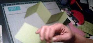 Make a 4x4 mini double accordion album