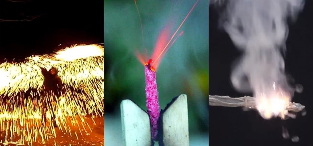 How to Make Your Own Sparklers at Home