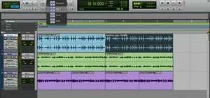 Manipulate time with elastic audio in Pro Tools 8