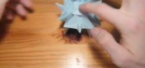 Origami a squishy ball