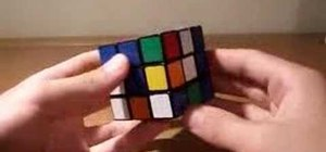 Solve a Rubik's Cube... faster
