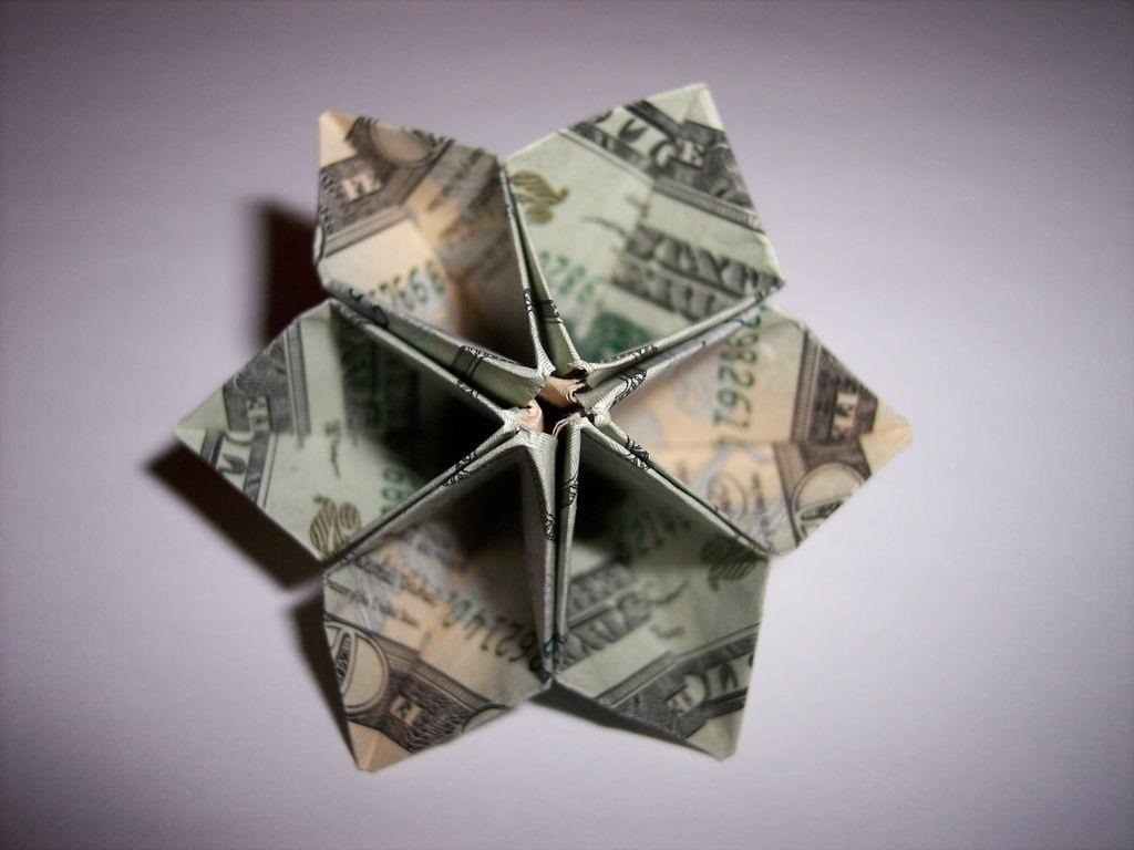 Money Origami, Flower Edition: 10 Different Ways to Fold a ... - photo#10