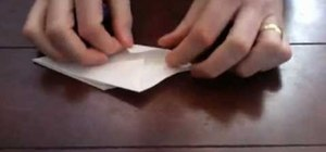 Origami a paper flower