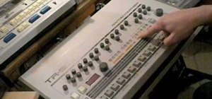 Program a Roland TR-909 drum machine fast