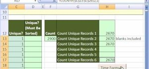 Speed up Excel calculations with helper columns