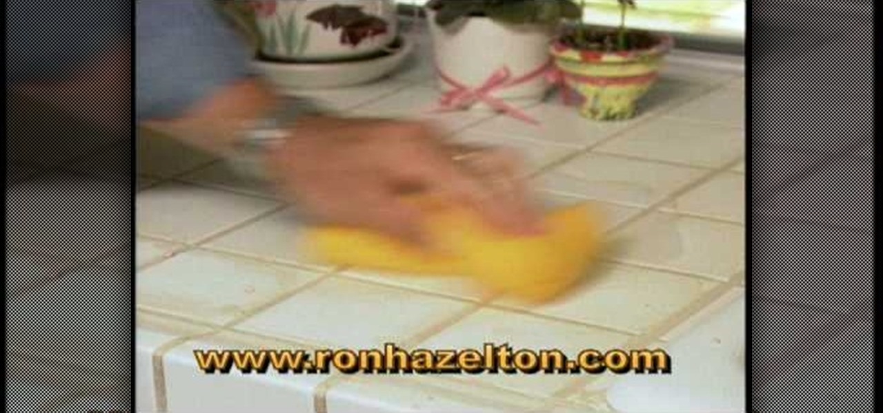 how to remove and replace tile grout construction repair wonderhowto. Black Bedroom Furniture Sets. Home Design Ideas