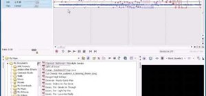 Use audio, recording, & automation in Sony Vegas