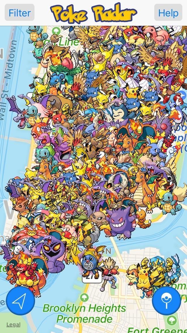 gps radar pokemon