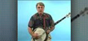 Use the xy or right hand position to play banjo