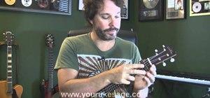 Use a capo with your ukulele