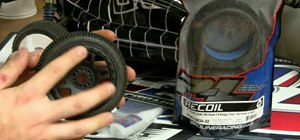 Glue VTR tires easily for your RC