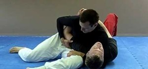Escape from a Jiu Jitsu scarf hold