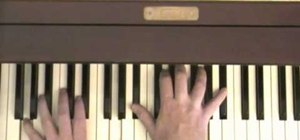 "Play the Beatles ""Across the Universe"" on piano"