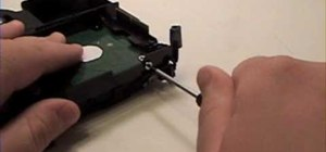 Repair an Intel Mac Mini - Hard drive removal