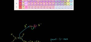 Work with reaction mechanisms in organic chemistry