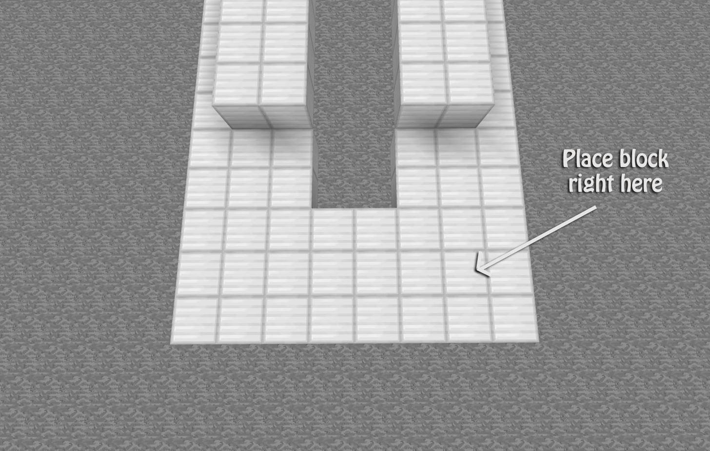 how to make a piston drawbridge in minecraft