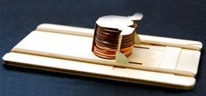DIY Business Card Fires Pennies