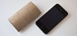 Turn a Toilet Paper Tube into a Car Dash Mount for Your Phone