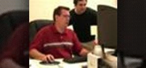 Play a fake desktop prank on a coworker