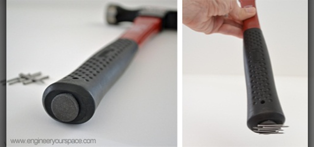 Make a DIY Magnetic Hammer