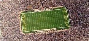 Man Parachutes into Michigan Stadium During Pregame Ceremony