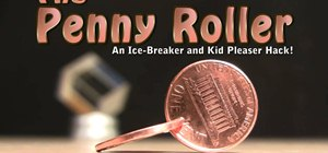 Turn two pennies into a fun little roller