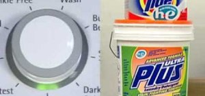 Avoid detergent residue on your high efficiency washer