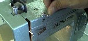 Thread a sewing machine step by step
