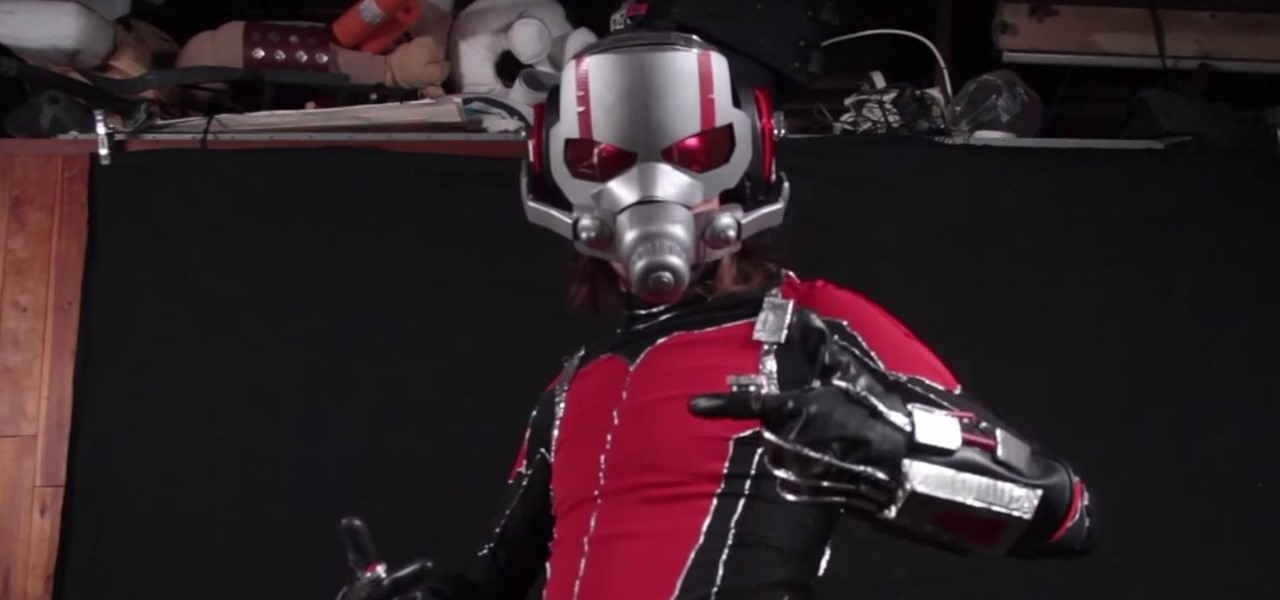 Build Ant-Man's Helmet & Suit for Halloween