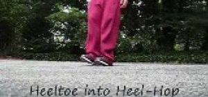 C-Walk the heel toe combo