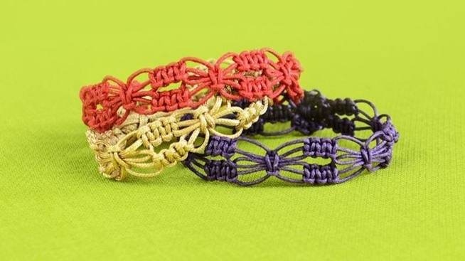 ... knot bracelet with beads diy beaded wrap bracelet with square knot and