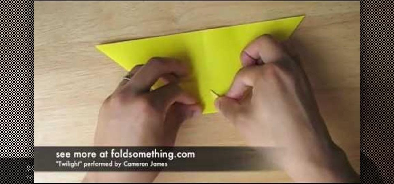 Origami Pen / Cosmetics Holder | Learn 2 Origami - Origami & Paper ... | 600x1280