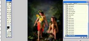 Give fairy images a more mystical look in Photoshop