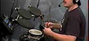 Read basic drum set music and the open hi hat